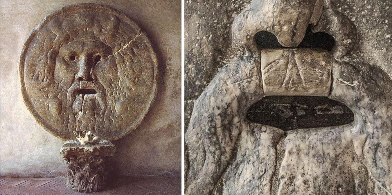 Bocca della verità, la leggenda romana