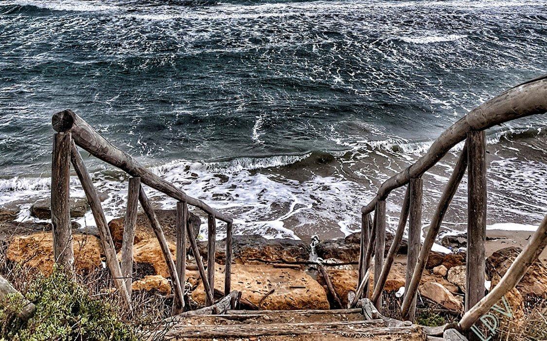Il mare di inverno, Brindisi 29 dicembre 2019