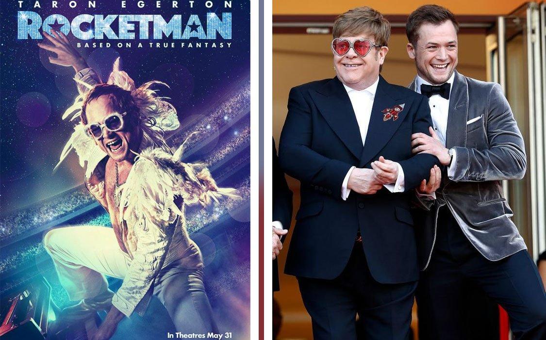 Rocketman, il film sulla carriera e la vita di Elton (Hercules) John
