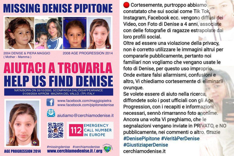 Denise Pipitone avvistata in Brasile? Il tam tam sui social