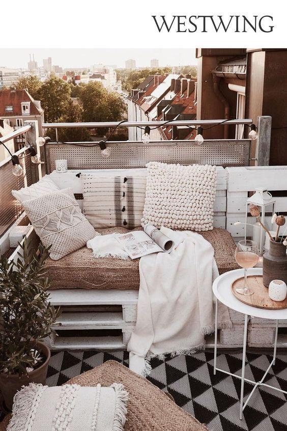 come arredare un balcone piccolo