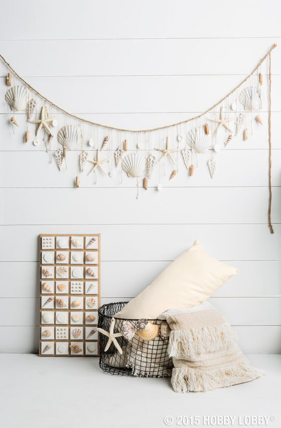 decorare con le conchiglie