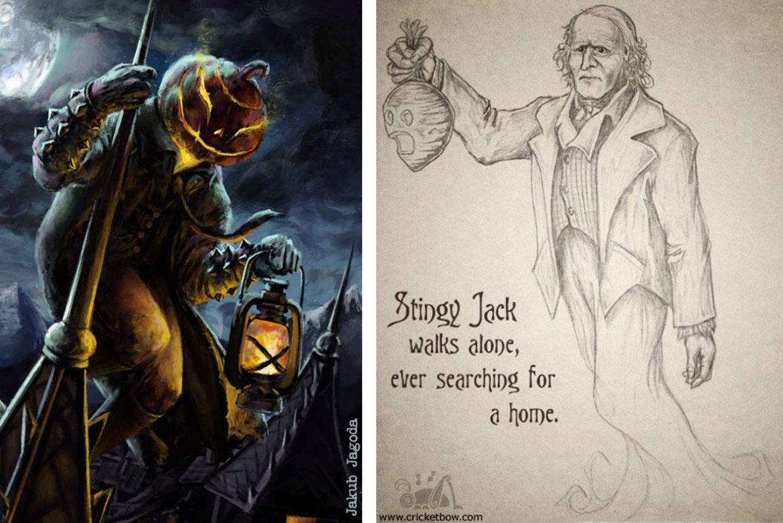 La leggenda di Jack O' Lantern alias Stingy Jack